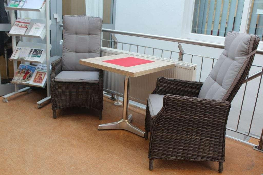 In der Lounge von Awo Leo Paderborn