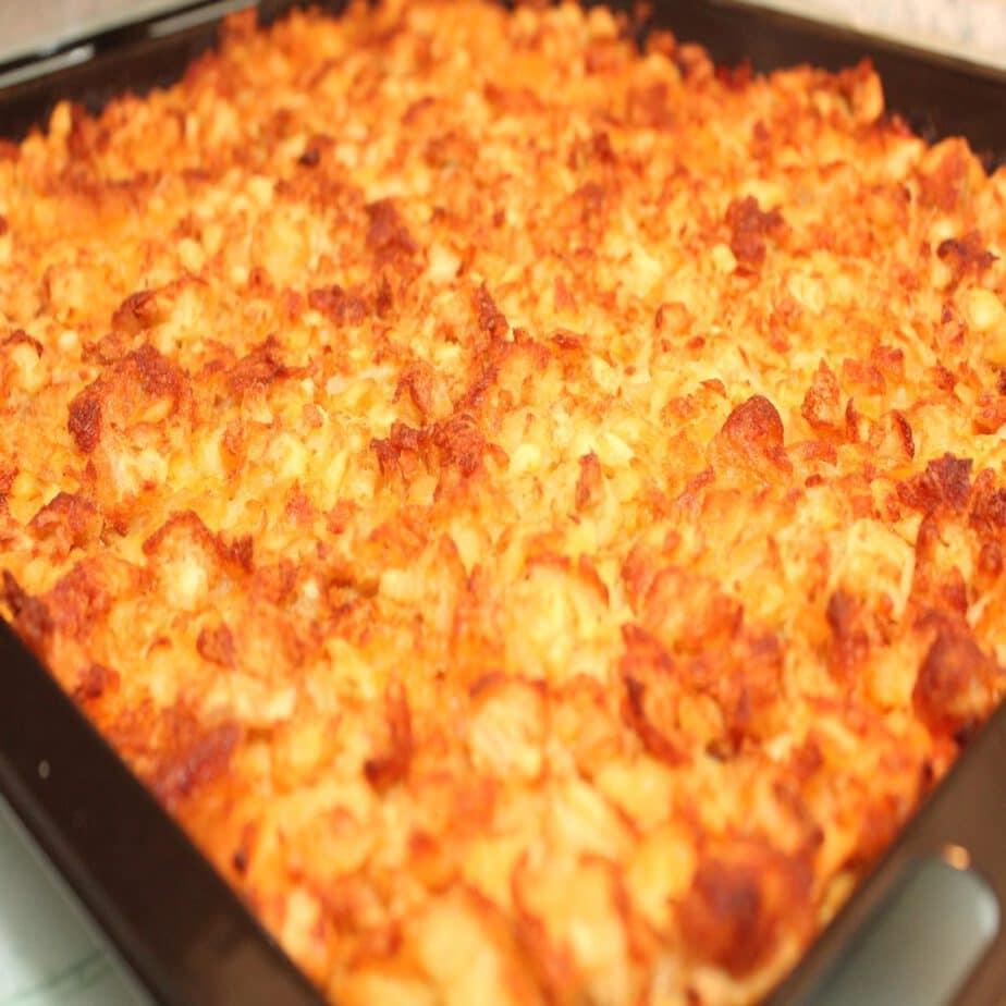 Kartoffelecken-Auflauf besser auch bekannt, als Rösti-Auflauf!