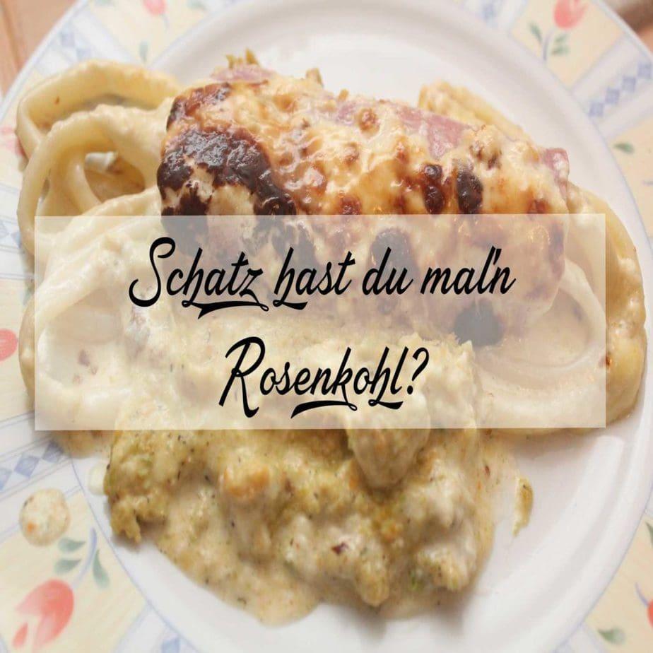 Rosenkohl-Gratin saftig und lecker!