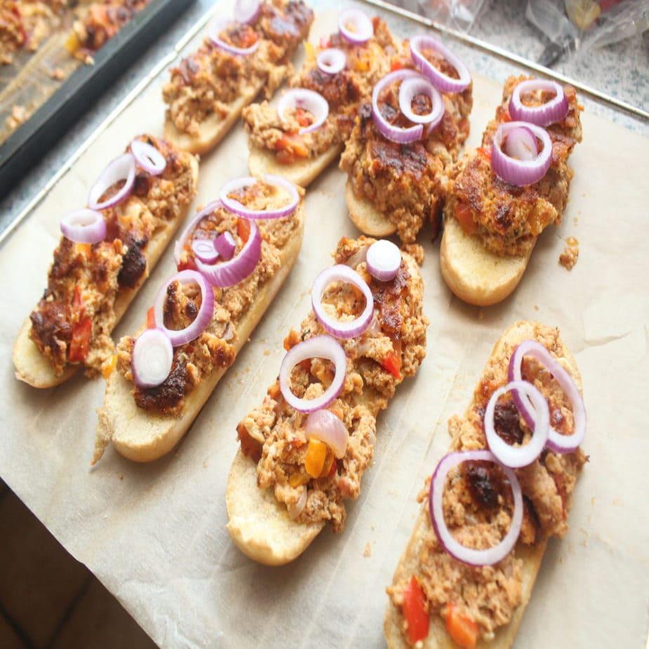 Pizza-Hot-Dog selbstgemacht ohne viel Aufwand!