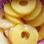 Ananasscheiben für deine Süß-Sauer-Soße